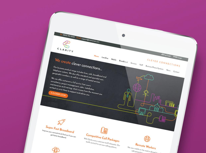 Clarity Website Design