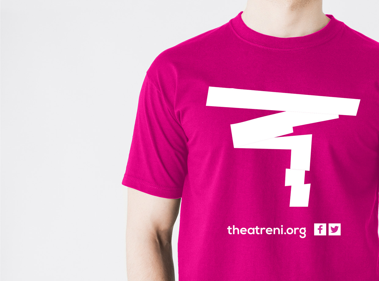 TheatreNI T-shirt design