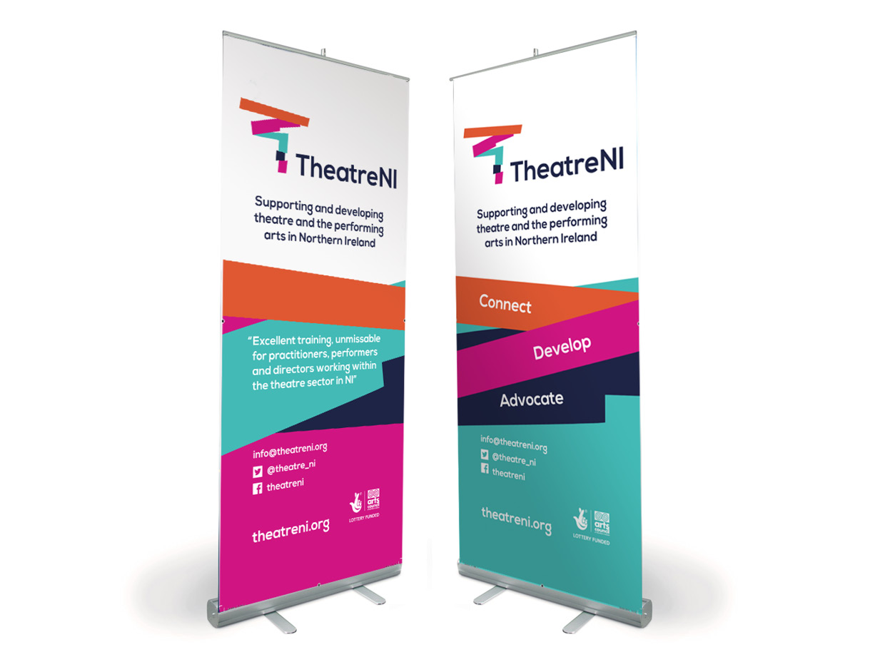TheatreNI Banner Design