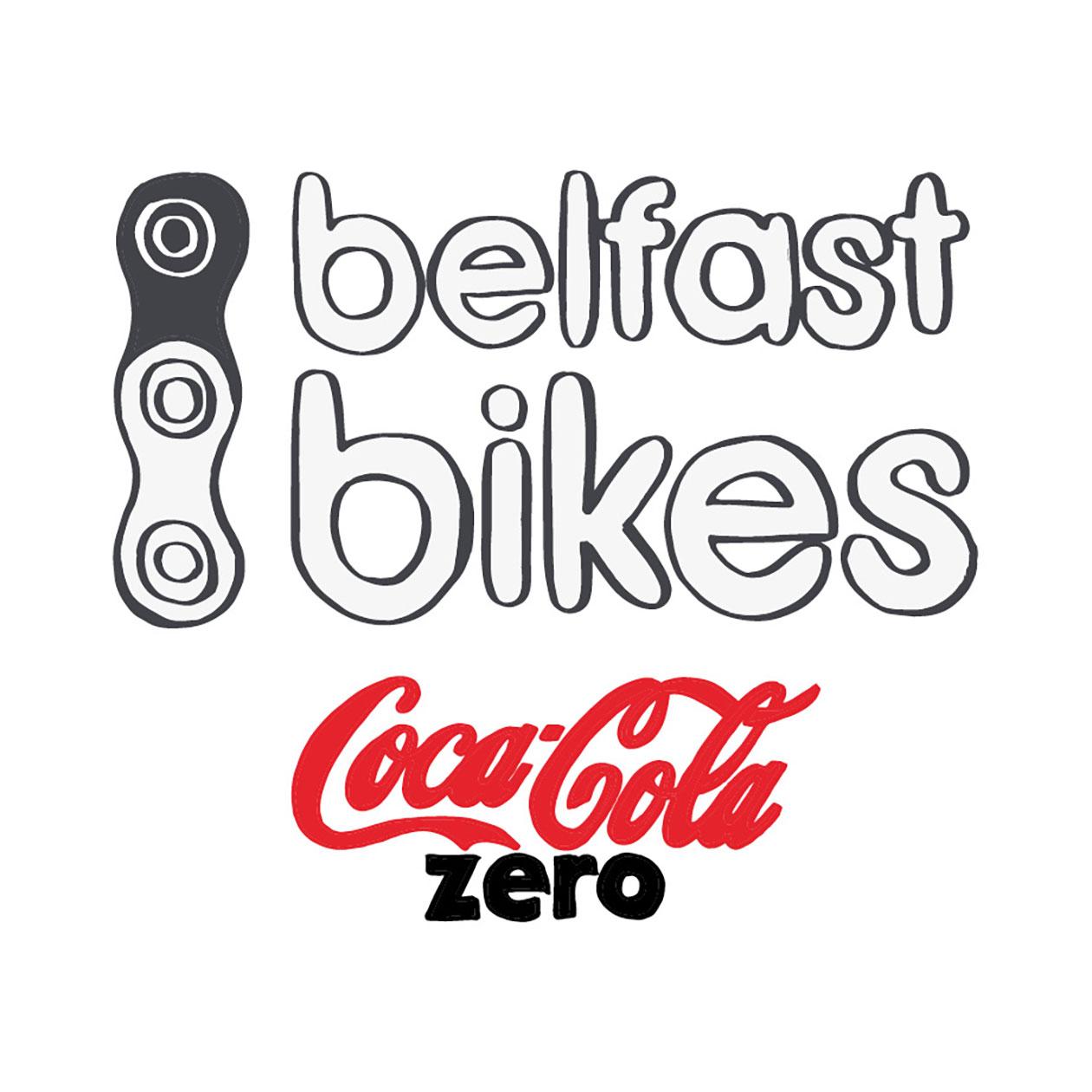 Belfast Bikes Logo Design Coca-Cola Zero by Usfolk